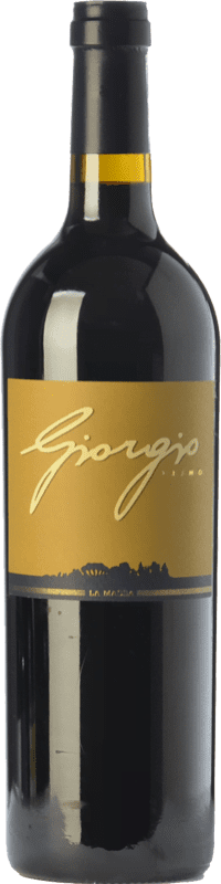 186,95 € Free Shipping | Red wine La Massa Giorgio Primo I.G.T. Toscana Tuscany Italy Merlot, Cabernet Sauvignon, Sangiovese Magnum Bottle 1,5 L