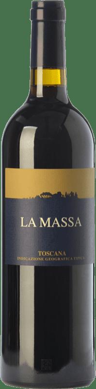 49,95 € Free Shipping | Red wine La Massa I.G.T. Toscana Tuscany Italy Merlot, Grenache, Cabernet Sauvignon, Sangiovese Magnum Bottle 1,5 L