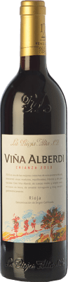 9,95 € Free Shipping | Red wine Rioja Alta Viña Alberdi Crianza 2011 D.O.Ca. Rioja The Rioja Spain Tempranillo Bottle 75 cl. | Thousands of wine lovers trust us to get the best price guarantee, free shipping always and hassle-free shopping and returns.