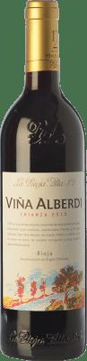 9,95 € Kostenloser Versand | Rotwein Rioja Alta Viña Alberdi Crianza D.O.Ca. Rioja La Rioja Spanien Tempranillo Flasche 75 cl