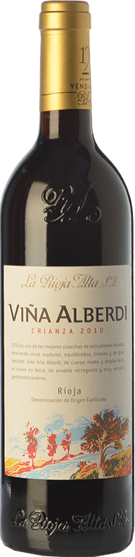 9,95 € Free Shipping | Red wine Rioja Alta Viña Alberdi Crianza D.O.Ca. Rioja The Rioja Spain Tempranillo Bottle 75 cl