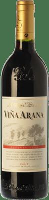 9,95 € Envío gratis | Vino tinto Rioja Alta Viña Arana Reserva D.O.Ca. Rioja La Rioja España Tempranillo, Mazuelo Media Botella 37 cl