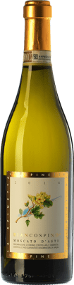 15,95 € Free Shipping | Sweet wine La Spinetta Biancospino D.O.C.G. Moscato d'Asti Piemonte Italy Muscatel White Bottle 75 cl