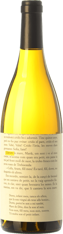 9,95 € Free Shipping | White wine La Vinyeta Llavors Blanc Crianza D.O. Empordà Catalonia Spain Macabeo, Xarel·lo Bottle 75 cl