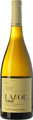 16,95 € Free Shipping | White wine Lafou Els Amelers Crianza D.O. Terra Alta Catalonia Spain Grenache White Bottle 75 cl