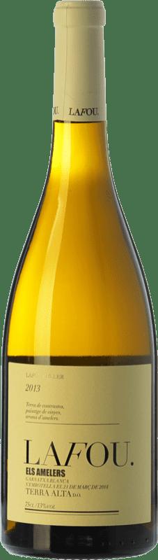 16,95 € Envío gratis | Vino blanco Lafou Els Amelers Crianza D.O. Terra Alta Cataluña España Garnacha Blanca Botella 75 cl