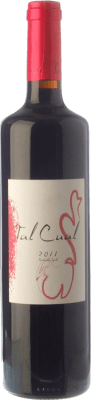 Red wine Lagar d'Amprius Tal Cual Joven 2011 I.G.P. Vino de la Tierra Bajo Aragón Aragon Spain Syrah, Grenache Bottle 75 cl