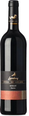 19,95 € Free Shipping | Red wine Laimburg Riserva Reserva D.O.C. Alto Adige Trentino-Alto Adige Italy Merlot Bottle 75 cl