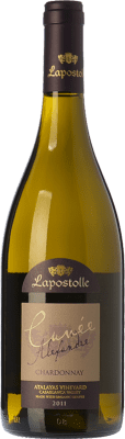 23,95 € Free Shipping | White wine Lapostolle Cuvée Alexandre Crianza I.G. Valle de Casablanca Valley of Casablanca Chile Chardonnay Bottle 75 cl