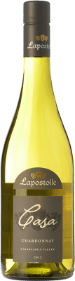 14,95 € Free Shipping | White wine Lapostolle Chardonnay I.G. Valle de Casablanca Valley of Casablanca Chile Chardonnay, Sémillon Bottle 75 cl