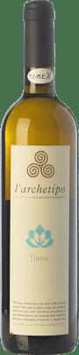 17,95 € Free Shipping | White wine L'Archetipo Fiano I.G.T. Salento Campania Italy Fiano Minutolo Bottle 75 cl