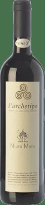 19,95 € Free Shipping | Red wine L'Archetipo Niuru Maru I.G.T. Salento Campania Italy Negroamaro Bottle 75 cl