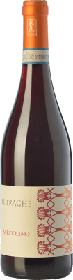 11,95 € Free Shipping | Red wine Le Fraghe D.O.C. Bardolino Veneto Italy Corvina, Rondinella Bottle 75 cl