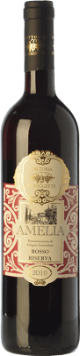 9,95 € Free Shipping | Red wine Le Poggette Rosso D.O.C. Amelia Umbria Italy Sangiovese, Montepulciano, Canaiolo Bottle 75 cl