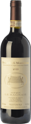 69,95 € Free Shipping | Red wine Le Ragnaie D.O.C.G. Brunello di Montalcino Tuscany Italy Sangiovese Bottle 75 cl