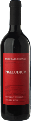 11,95 € Free Shipping | Red wine Le Terrazze Praeludium D.O.C. Rosso Conero Marche Italy Syrah, Montepulciano Bottle 75 cl