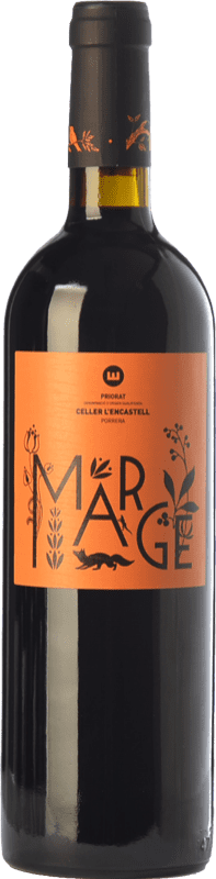 21,95 € Free Shipping | Red wine L'Encastell Marge Joven D.O.Ca. Priorat Catalonia Spain Merlot, Syrah, Grenache, Cabernet Sauvignon, Carignan Bottle 75 cl