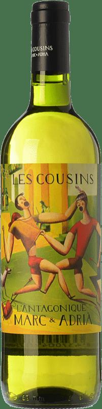 14,95 € Free Shipping | White wine Les Cousins L'Antagonique Crianza D.O.Ca. Priorat Catalonia Spain Grenache, Carignan, Grenache White, Trepat, Macabeo, Escanyavella Bottle 75 cl