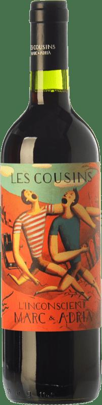 11,95 € Free Shipping | Red wine Les Cousins L'Inconscient Crianza D.O.Ca. Priorat Catalonia Spain Merlot, Syrah, Grenache, Cabernet Sauvignon, Carignan Bottle 75 cl