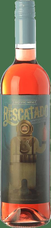 5,95 € Free Shipping | Rosé wine Leyenda del Páramo El Rescatado D.O. Tierra de León Castilla y León Spain Prieto Picudo Bottle 75 cl