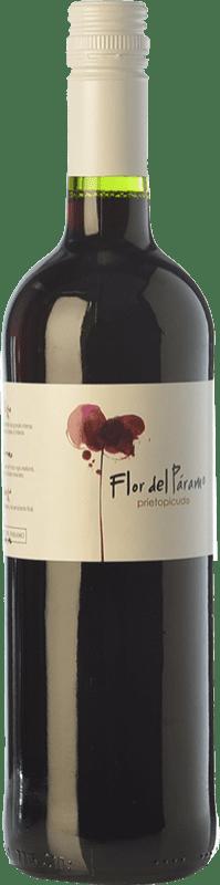 5,95 € Free Shipping | Red wine Leyenda del Páramo Flor del Páramo Joven D.O. Tierra de León Castilla y León Spain Prieto Picudo Bottle 75 cl