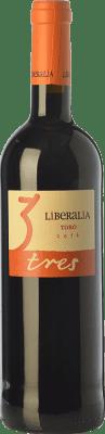 11,95 € Free Shipping | Red wine Liberalia Tres Joven D.O. Toro Castilla y León Spain Tinta de Toro Bottle 75 cl
