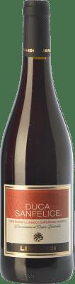 9,95 € Free Shipping | Red wine Librandi Rosso Riserva Duca Sanfelice Reserva D.O.C. Cirò Calabria Italy Gaglioppo Bottle 75 cl