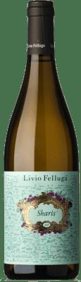 17,95 € Free Shipping | White wine Livio Felluga Sharis I.G.T. Delle Venezie Friuli-Venezia Giulia Italy Chardonnay, Ribolla Gialla Bottle 75 cl