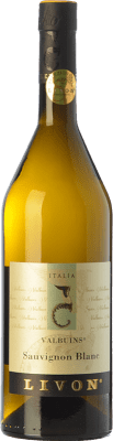 16,95 € Free Shipping | White wine Livon Blanc Valbuins D.O.C. Collio Goriziano-Collio Friuli-Venezia Giulia Italy Sauvignon Bottle 75 cl