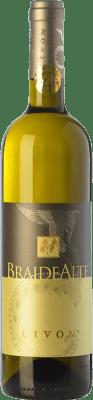 35,95 € Free Shipping | White wine Livon Braide Alte I.G.T. Friuli-Venezia Giulia Friuli-Venezia Giulia Italy Chardonnay, Sauvignon, Picolit, Muscatel Giallo Bottle 75 cl