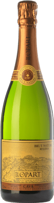 12,95 € Free Shipping | White sparkling Llopart Brut Nature Reserva D.O. Cava Catalonia Spain Macabeo, Xarel·lo, Chardonnay, Parellada Bottle 75 cl. | Thousands of wine lovers trust us to get the best price guarantee, free shipping always and hassle-free shopping and returns.