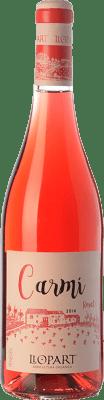 13,95 € Free Shipping | Rosé wine Llopart Carmí D.O. Penedès Catalonia Spain Grenache, Sumoll Bottle 75 cl