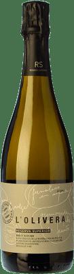 18,95 € Free Shipping | White sparkling L'Olivera Brut Nature Gran Reserva D.O. Costers del Segre Catalonia Spain Macabeo, Chardonnay, Parellada Bottle 75 cl