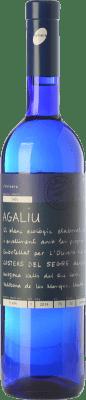 11,95 € Free Shipping | White wine L'Olivera Agaliu Crianza D.O. Costers del Segre Catalonia Spain Macabeo Bottle 75 cl