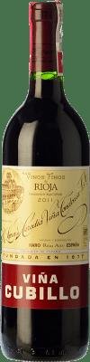 17,95 € Envoi gratuit | Vin rouge López de Heredia Viña Cubillo Crianza 2009 D.O.Ca. Rioja La Rioja Espagne Tempranillo, Grenache, Graciano, Mazuelo Bouteille 75 cl
