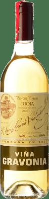 21,95 € Kostenloser Versand | Weißwein López de Heredia Viña Gravonia Crianza D.O.Ca. Rioja La Rioja Spanien Viura Flasche 75 cl