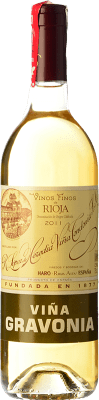 19,95 € Free Shipping | White wine López de Heredia Viña Gravonia Crianza 2007 D.O.Ca. Rioja The Rioja Spain Viura Bottle 75 cl | Thousands of wine lovers trust us to get the best price guarantee, free shipping always and hassle-free shopping and returns.
