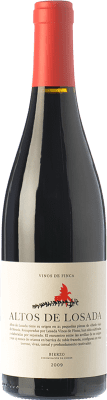 19,95 € Free Shipping | Red wine Altos de Losada Crianza D.O. Bierzo Castilla y León Spain Mencía Bottle 75 cl | Thousands of wine lovers trust us to get the best price guarantee, free shipping always and hassle-free shopping and returns.