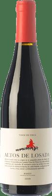 19,95 € Envío gratis | Vino tinto Losada Altos de Losada Crianza D.O. Bierzo Castilla y León España Mencía Botella 75 cl