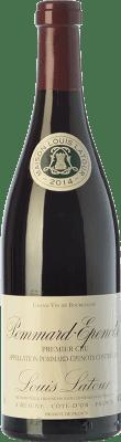116,95 € Envío gratis | Vino tinto Louis Latour Pommard Premier Cru Les Epenots Joven A.O.C. Bourgogne Burgundy Francia Pinot Negro Botella 75 cl