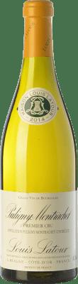 104,95 € Envío gratis | Vino blanco Louis Latour Premier Cru Crianza A.O.C. Puligny-Montrachet Burgundy Francia Chardonnay Botella 75 cl