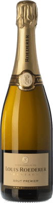 535,95 € Free Shipping | White sparkling Louis Roederer Premier Brut Gran Reserva A.O.C. Champagne Champagne France Pinot Black, Chardonnay, Pinot Meunier Imperial Bottle-Mathusalem 6 L. | Thousands of wine lovers trust us to get the best price guarantee, free shipping always and hassle-free shopping and returns.