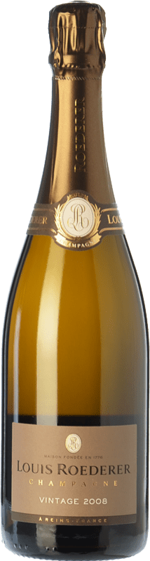 76,95 € Free Shipping | White sparkling Louis Roederer Vintage Gran Reserva 2009 A.O.C. Champagne Champagne France Pinot Black, Chardonnay Bottle 75 cl