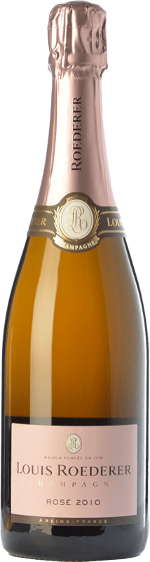 79,95 € Free Shipping | Rosé sparkling Louis Roederer Vintage Rosé Gran Reserva 2011 A.O.C. Champagne Champagne France Pinot Black, Chardonnay Bottle 75 cl