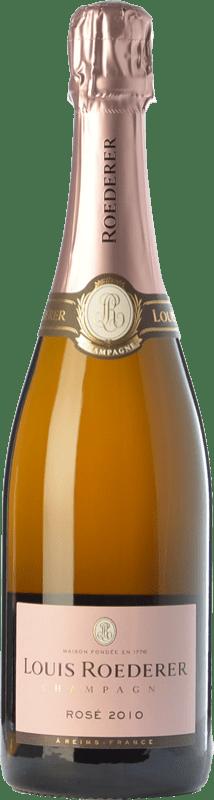 77,95 € Free Shipping | Rosé sparkling Louis Roederer Vintage Rosé Gran Reserva A.O.C. Champagne Champagne France Pinot Black, Chardonnay Bottle 75 cl
