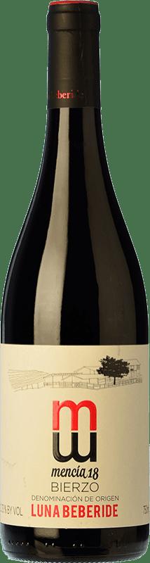6,95 € Envoi gratuit   Vin rouge Luna Beberide Joven D.O. Bierzo Castille et Leon Espagne Mencía Bouteille 75 cl
