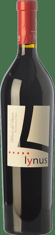 15,95 € Envoi gratuit | Vin rouge Lynus Crianza D.O. Ribera del Duero Castille et Leon Espagne Tempranillo Bouteille 75 cl