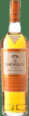55,95 € Free Shipping | Whisky Single Malt Macallan Amber Highlands United Kingdom Bottle 70 cl