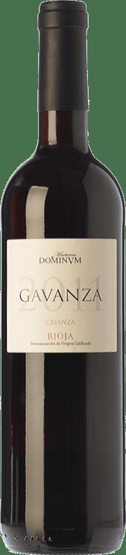 8,95 € Free Shipping | Red wine Maetierra Dominum Gavanza Crianza D.O.Ca. Rioja The Rioja Spain Tempranillo, Grenache, Graciano Bottle 75 cl