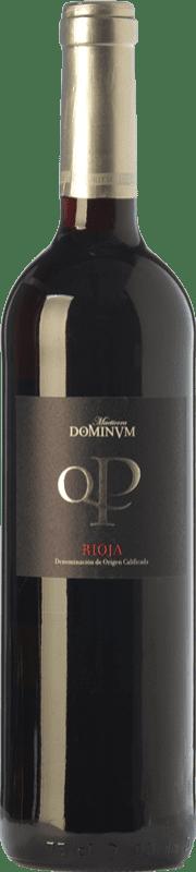 13,95 € Free Shipping | Red wine Maetierra Dominum Quatro Pagos Reserva D.O.Ca. Rioja The Rioja Spain Tempranillo, Grenache, Graciano Bottle 75 cl